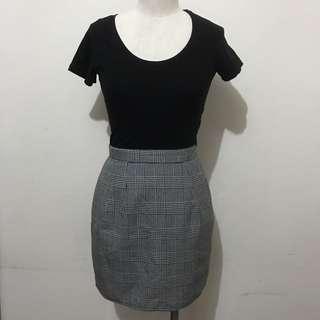 Vintage ASOS Style Clueless Style Tartan Skirt