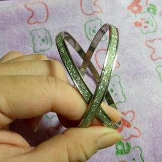 二手銀色手環