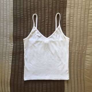 Ribbed Crop Top - S