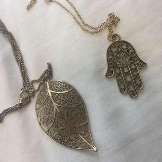 Long Gold Necklaces