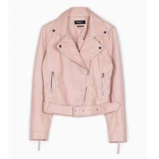 LOOKING FOR: Baby Pink Leather jacket