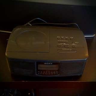 Sony ALARM CLOCK/RADIO/CD Player
