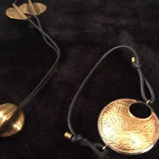 Brass Necklace - Bracelet