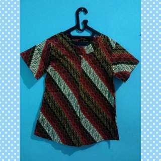 Blouse Batik Merah