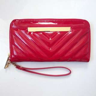Leather Aldo Wristlet/Wallet