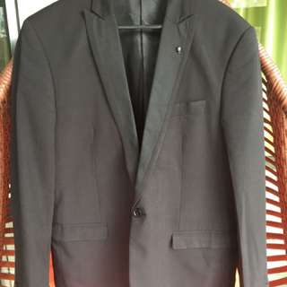 Black Mens Blazer
