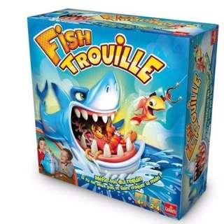 🚚 現貨 摸魚摸到大白鯊 鯊魚桌遊 整人玩具 生日 派對 桌遊 鯊魚 禮物 互動 親子同樂