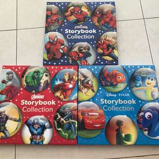 Marvel And Disney Story Books Collection