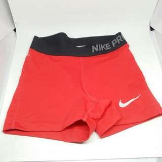 Nike Pro Red Shorts