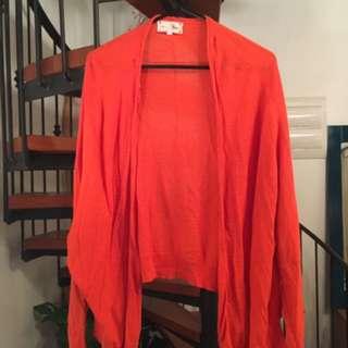 Orange Cardi - Size 10