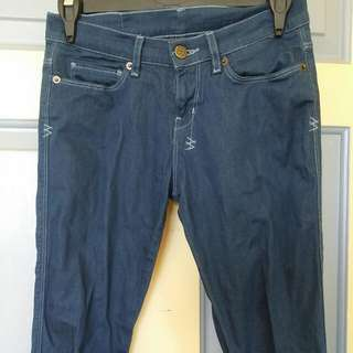 Ksubi Dark Wash Blue Jeans Size 25