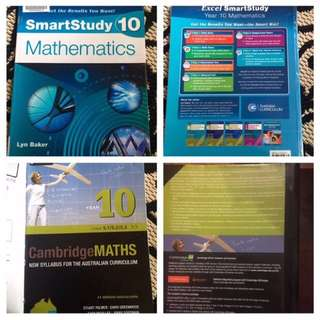 Cambridge Year 10 Maths & SmartStudy Yr 10