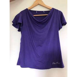 Betty Bop Purple Shirt