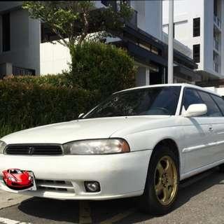 速霸陸 Subaru Legacy 手排 四傳 2.0稅 Ej25 2.5 升引擎 五門 旅行車 二代