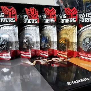 Transformers Movie 3D Magnet Heads