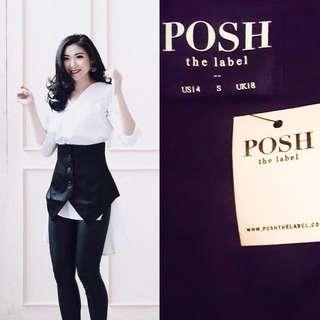 (NEW) Posh The Label Delight Crop Vest // Luaran Wanita