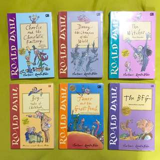 Roald Dahl Big Books Bundle #2 (the BFG sold)