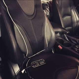 Obusforme Massaging Car Seat Cushion With Heat