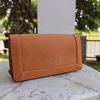 Flashy - Brown Wallet