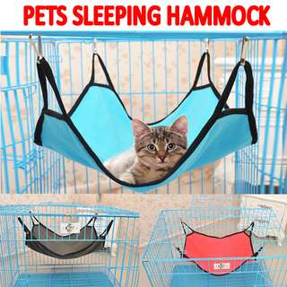 TPE032 Portable Pet Soft Sleeping Hammock Bed