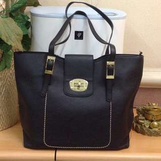 MC Collection Tote Bag with Zip Top