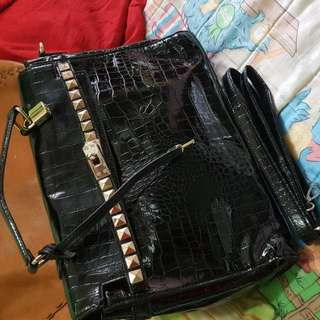 Crocodile Skin Bag From Japan