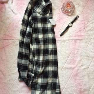 Giordano Checkered Polo Dress w/tag