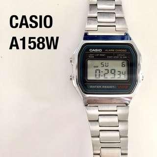 CASIO A158w digital watch