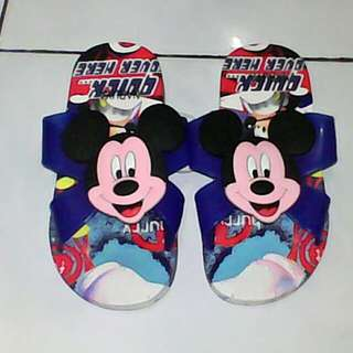 SENDAL ANAK MICKEY MOUSE