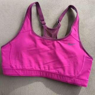 Nike Women's Sports Crop Top / Bra Size Small