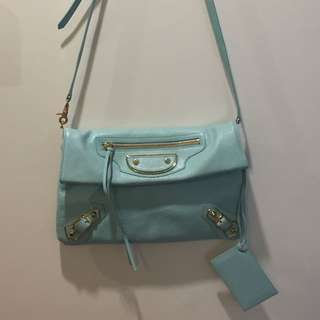 Balenciaga Clutch/ Detachable Sling Bag