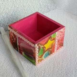 手作3D拼貼盒(免費送贈)ID-f