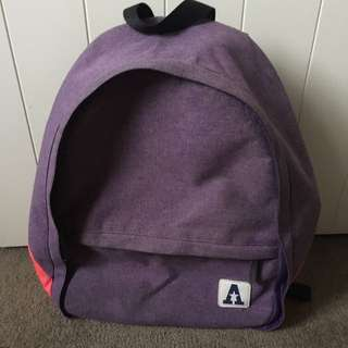 purple school & travel bag