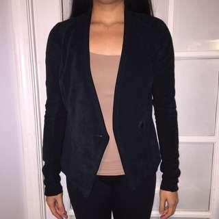 Daniel Suede Leather Blazer/jacket