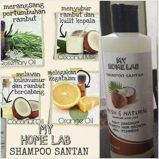 Shampoo Santan My Home Lab