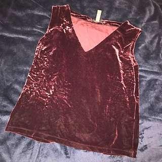 Barely Used Mint Condition Banana Republic Velvet Shirt