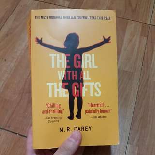 The Girl with All the Gifts - second hand book