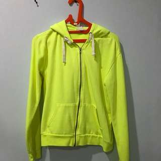 Forever 21 Yellow Neon Jacket