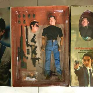 Andy Lau, Limited Edition Collectable Figure With Certificate & Signature, Hot Toys, Worthfield