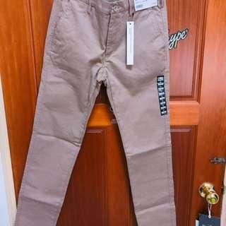 Uniqlo 休閒長褲 工作褲 超級彈性纖維 Skinny Fit
