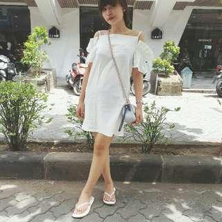 White Clot Dress