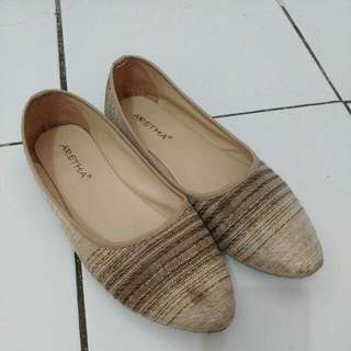 Oct Sale (Flat shoes tenun) repriced