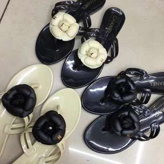 Chanel Camellia Slippers Sandals 35-40