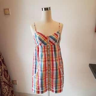 BILLABONG ORIGINAL BABY DOLL TOP / BEACH SUMMER DRESS SIZE SMALL