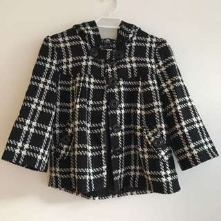 CKM Checkered Jacket with Hood