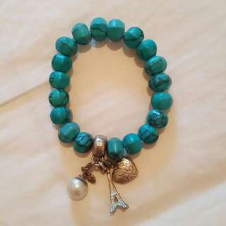 Thomas Sabo Bracelet Turquoise with charms
