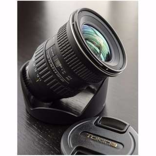 Tokina 11-16mm f/2.8 AT-X Ultra Wide Angle Lens (For Nikon)