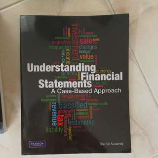 Understanding Financial Statements A Case Based Approach