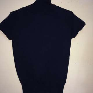 SEED SHORT SLEEVES TURTLE NECK