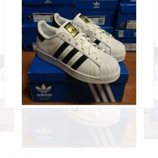 New Adidas Superstar size US 5.5-10 / 3 colours